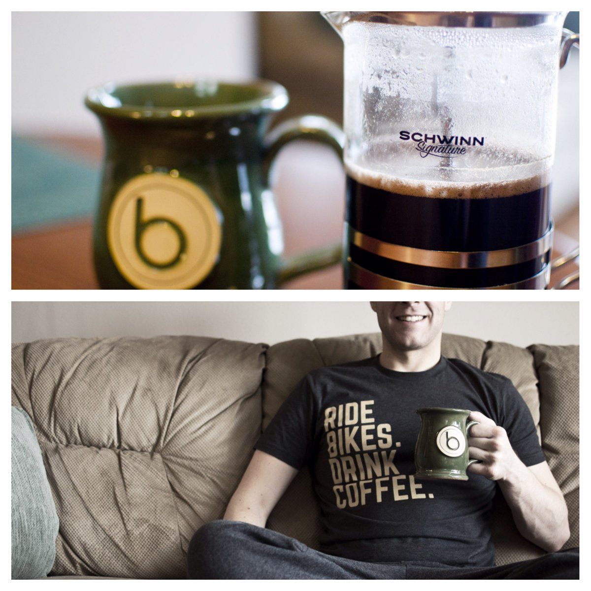 Love Schwinn? Love Coffee? Follow us to enter to win this Schwinn coffee press and Schwinn T-shirt.  Ends June 1st. https://t.co/cBPpi9L4sF