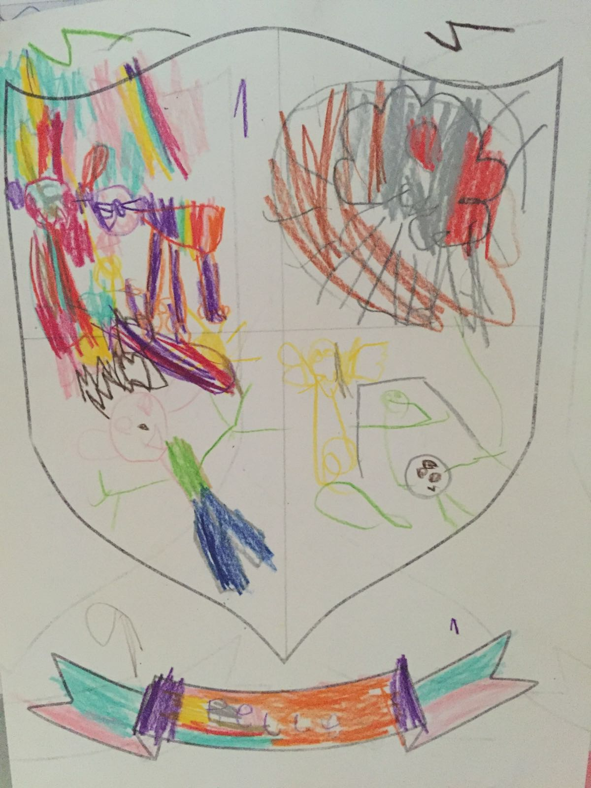 It's #ChildrensHospiceWeek so here's #myfamily coat of arms... share your special family pic with @Tog4ShortLives https://t.co/GYTEa8AFOr