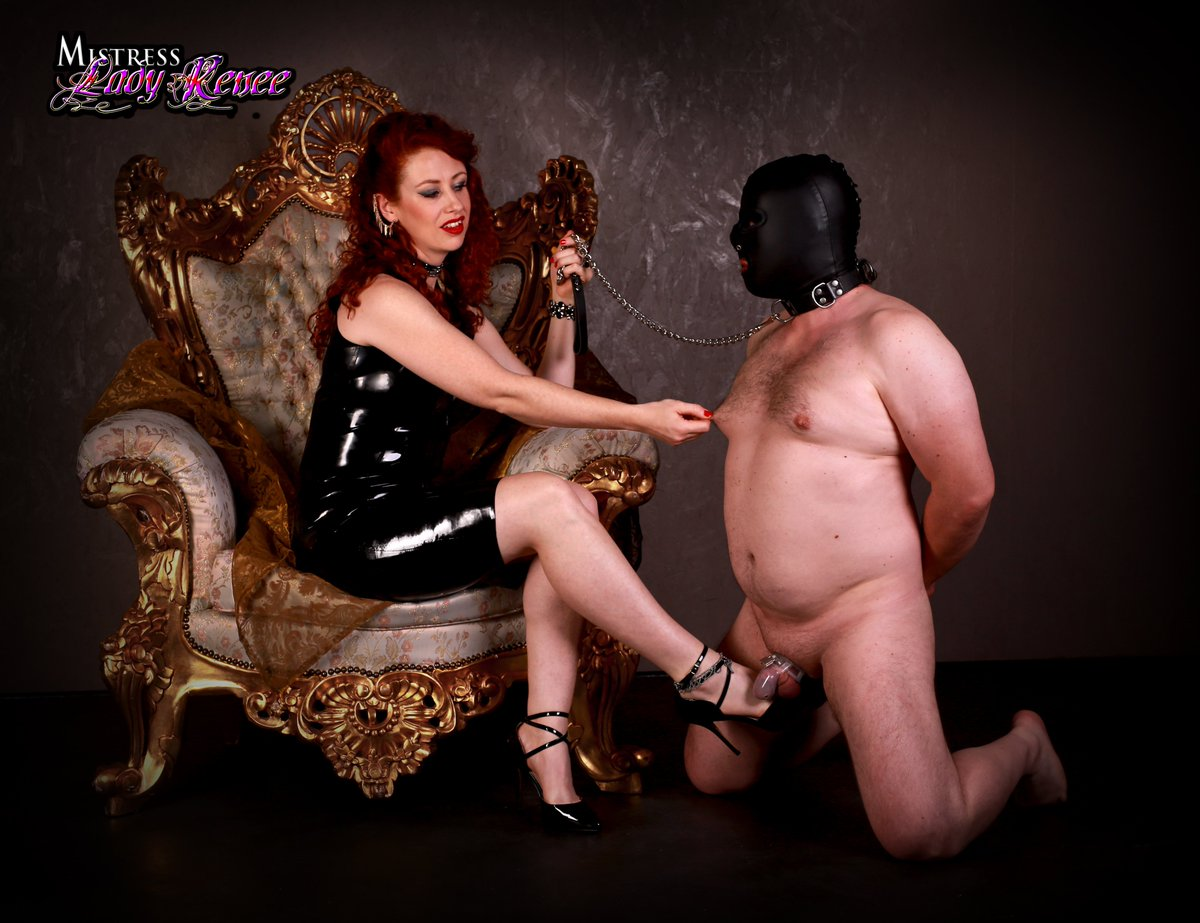 you are now MINE. #cbt #humiliation #chastity  #Mistress  #leather   #highheels @RTpig @erickvegas4u @DirkHooper