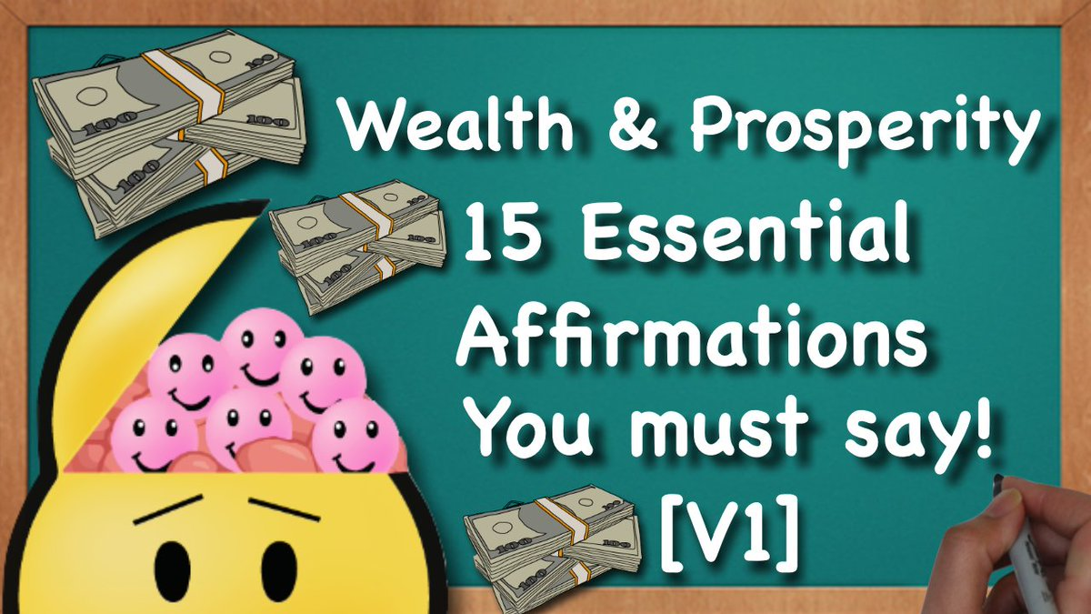15 #Affirmations for #Wealth and #Prosperity! Hope you Enjoy!   #Money #Youtube ► http:// bit.ly/1We2auN  &nbsp;   <br>http://pic.twitter.com/a0GLUn5ON2