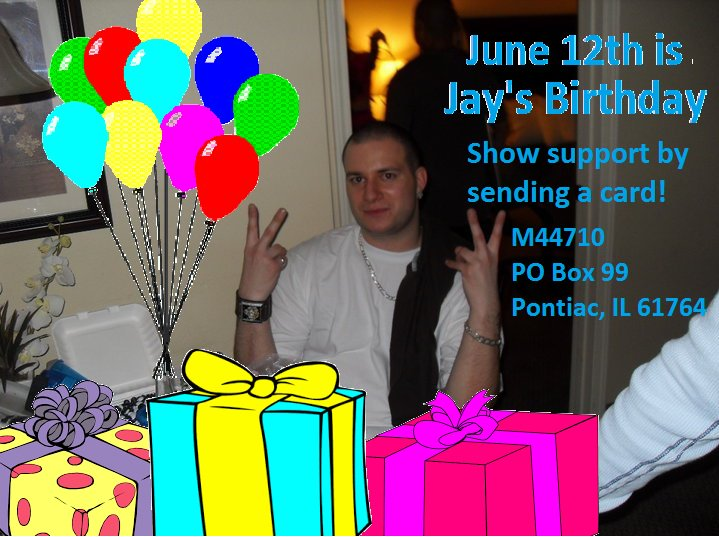 Daniel McGowan On Twitter Send Birthday Cards To Political Prisoner Jay Chase Of FreeNATO3 Tco Zufma5JUDk OccupyWallStNYC Nycabc