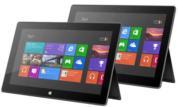 Microsoft Surface Pro 64GB or 128GB 10.6 Tablet with Windows 8 Pro