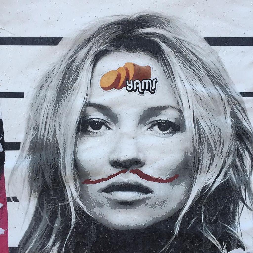 Wheatpaste Graffiti Art Bowery NYC @1penemy #1penemy #streetphotography #art #outsider #outsiderart #nyc #nycart #g…