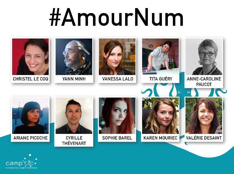 Les intervenant(e)s du Forum 🐙 #AmourNum sont fin prêt(e)s, nous aussi ! Et vous ? → https://t.co/MnwqfJ16ln https://t.co/FrjZu05Wm4