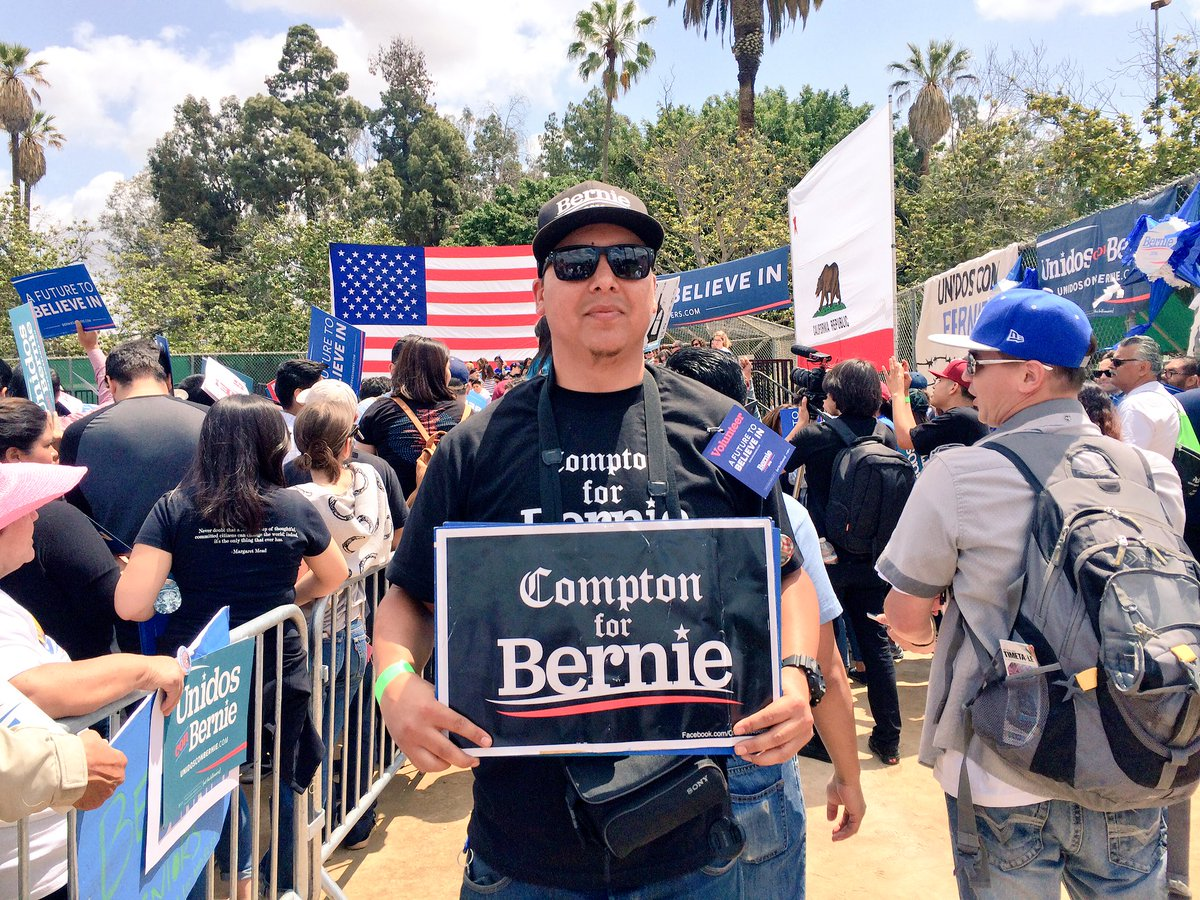 """I believe in fairness & equality. #BernieSanders is only one speaking on it, he's a whistleblower""- @HeronCarrillo https://t.co/vBCoyvhZKH"