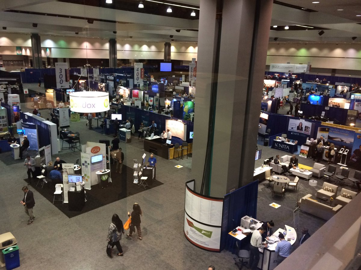 The Exhibit Hall is a-buzzing... #BizLaw16 https://t.co/8ZyVWFSlCl
