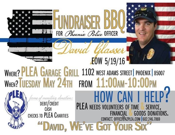 Please help our brother in blue if you can tomorrow. RIP Officer Glasser. https://t.co/NwNtOfLEn1