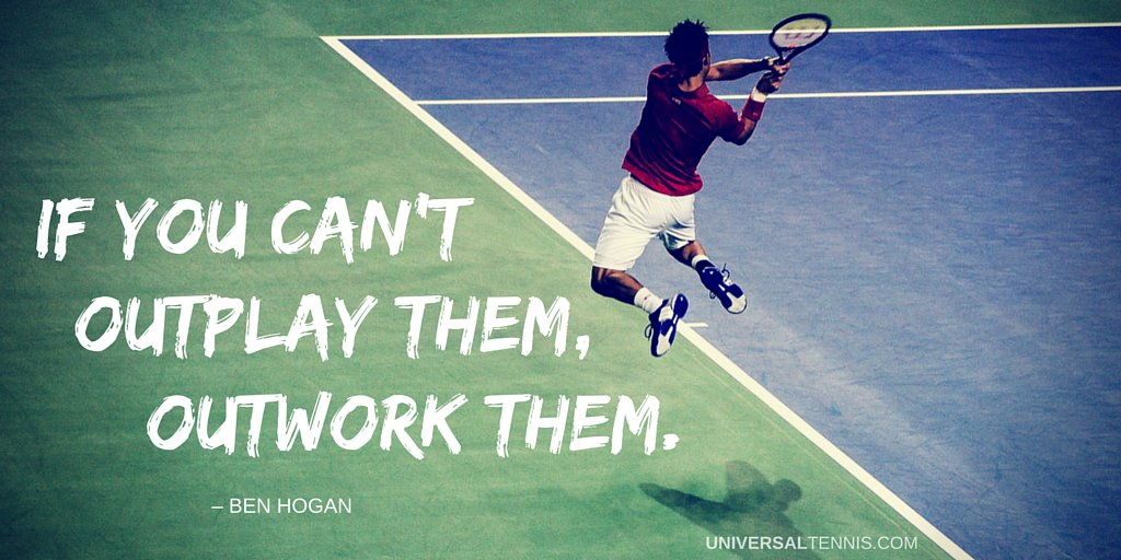 """""""If you can't outplay them, outwork them."""" – Ben Hogan  #MotivateMonday https://t.co/s0gbk7vNs6"""