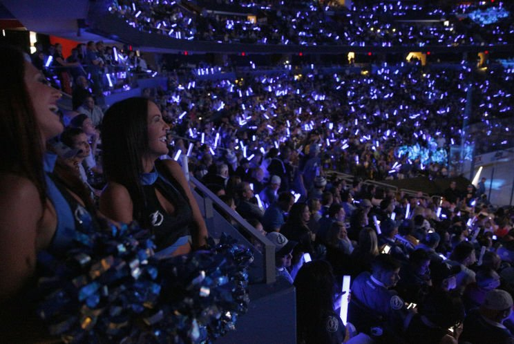 It takes months of work by the Tampa Bay Lightning to make it loud for the playoffs