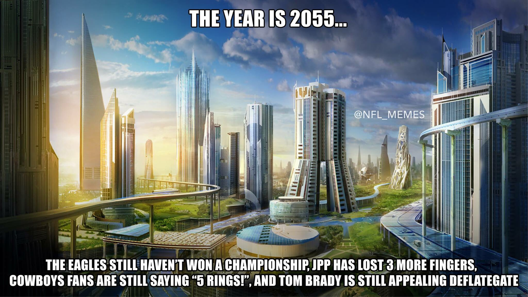 Nfl Memes On Twitter Quot The Year Is 2055
