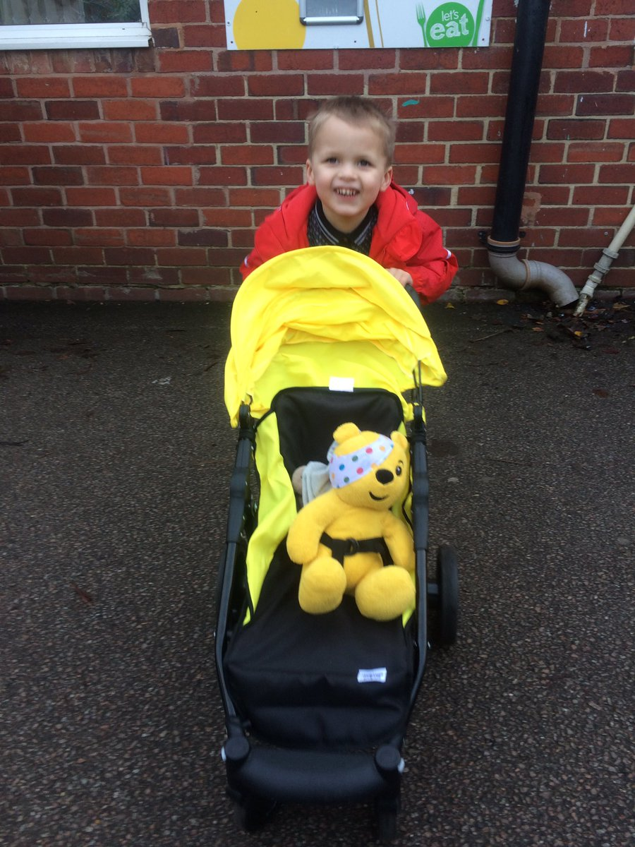@Wishonastar77 @LetToysBeToys This is my son. Goes  out everyday  with teddies or his baby rugby ball lol. https://t.co/j4TTpwrJmK
