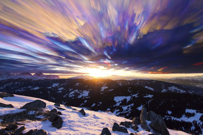 The top 10 ski resorts with incredible sunsets
