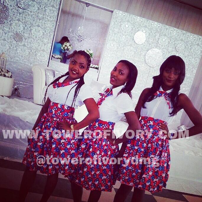 We are the Premium Event Ushers with a Cheer    #TowerOfIvory #EventUshers <br>http://pic.twitter.com/wpCpo1yYhZ