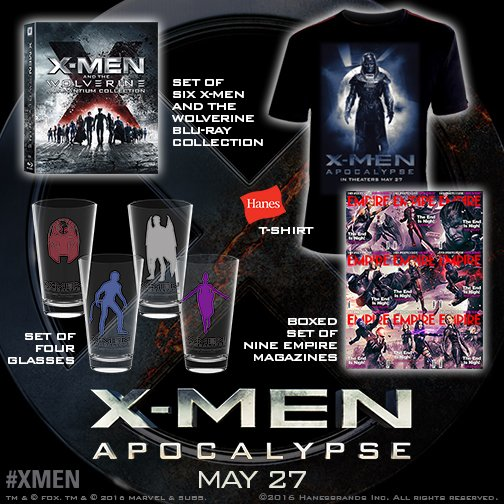 #RT with #XMenApocalypseLandmarkSweepstakes for a chance to win a prize! Rules: https://t.co/dgWeHufZbd opens 5/27! https://t.co/yWvHYXHoUI