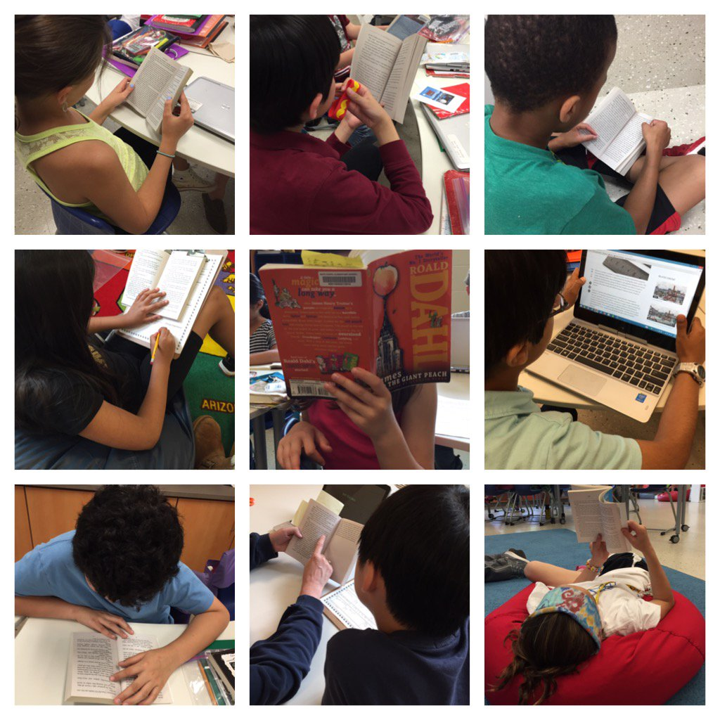 9 different locations in 9 minutes!  Reading is everywhere @Team_MCES @BCPS_ELA https://t.co/jWILcUOMvn