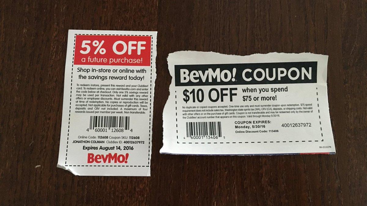 bevmo coupon aug 2019