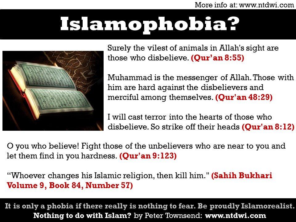 Islamophobia or Islamorealism? #Islam #I...