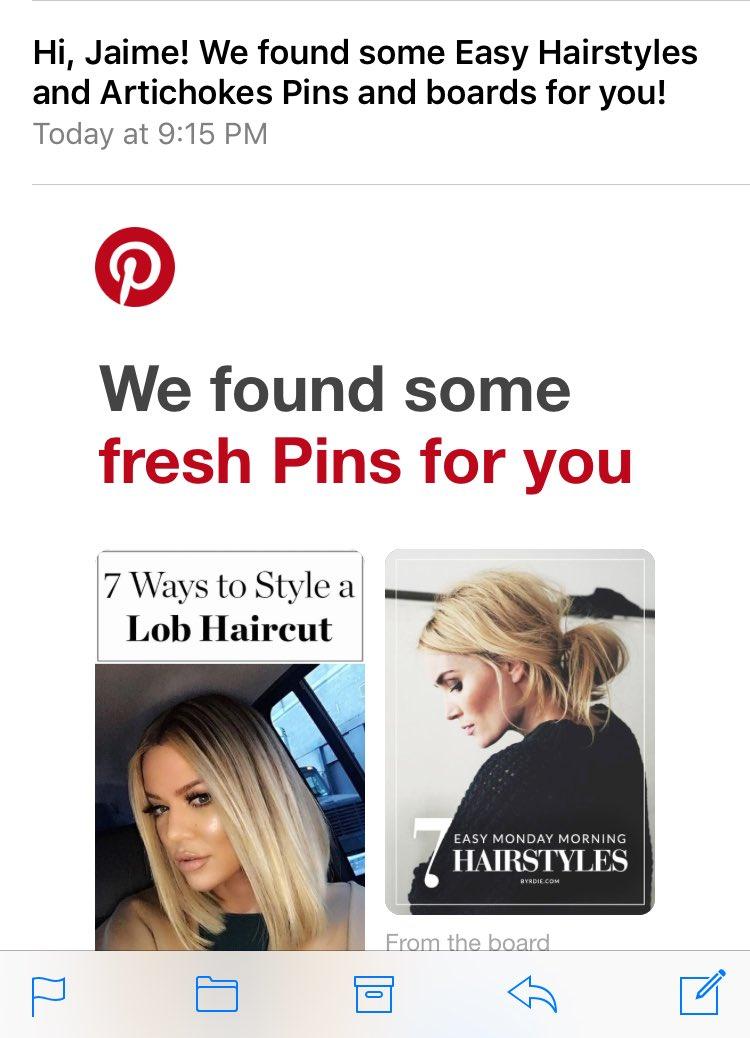 Jaime Fennema On Twitter Thanks Pintrest Hairstyles And