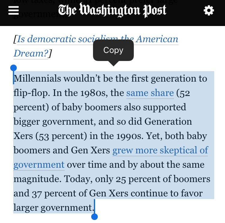.@wesbury @pmarca wow, so different than Baby Boomers and GenXers when they were young.