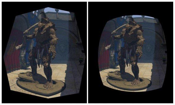 NVIDIA Explains Pascal's 'Lens Matched Shading' for More Efficient VR Rendering