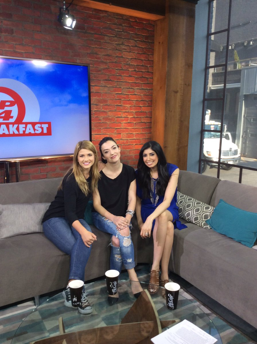 Great chatting with @natvanlis and @Elise3aum about their roles in the film #AlmostAdults https://t.co/H6FHiU6sqC