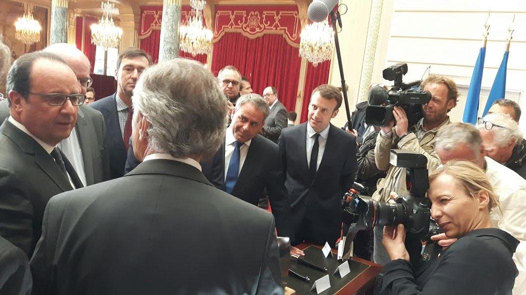 Installation de l'usine Safran - Air France à Valenciennes: une relocalisation permise par la mobilisation de tous !
