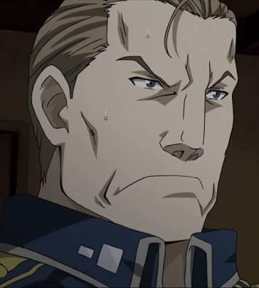 鋼の錬金術師ハクロ将軍