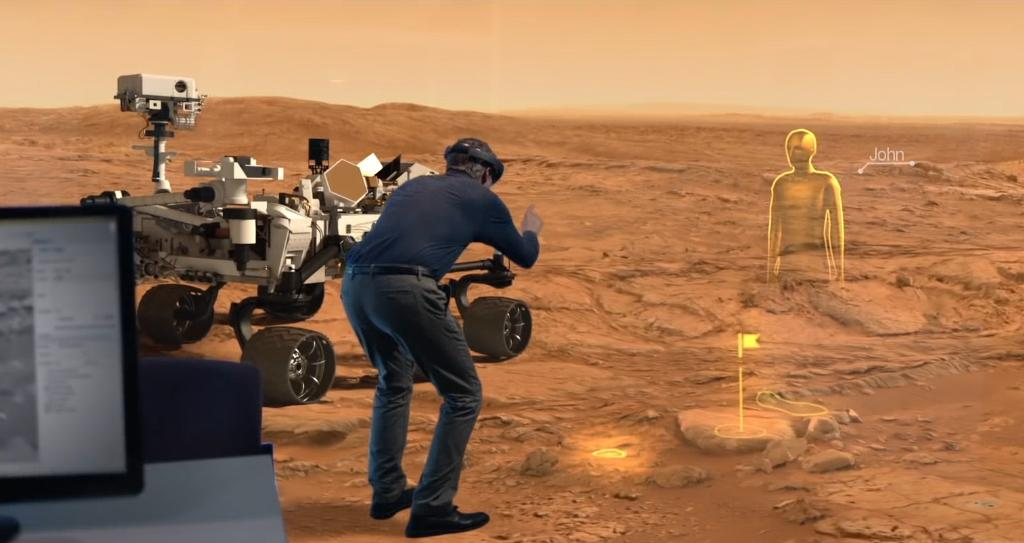 NASA-JPL scientists can walk on Mars with the help of HoloLens (Tomorrow Daily 369 show notes)