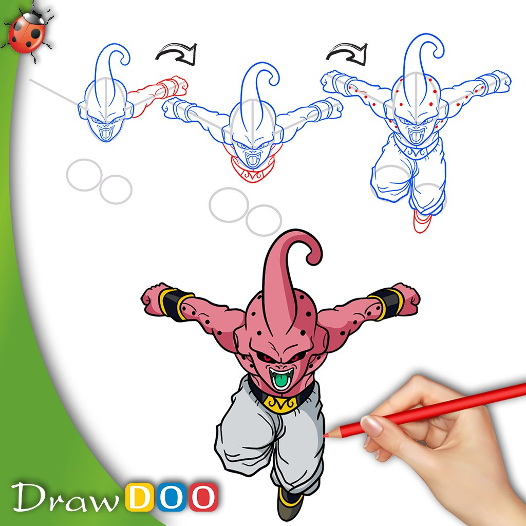 Drawdoo How To Draw On Twitter Dragonballsuper Anime Drawing