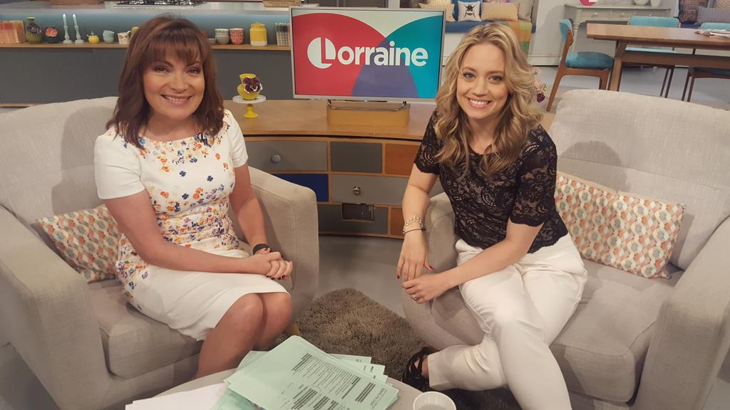 RT @ITVLorraine: Stay tuned! @KimberlyKWyatt is back with the first instalment of her new cooking series - Kimberly's Garden Kitchen https:…