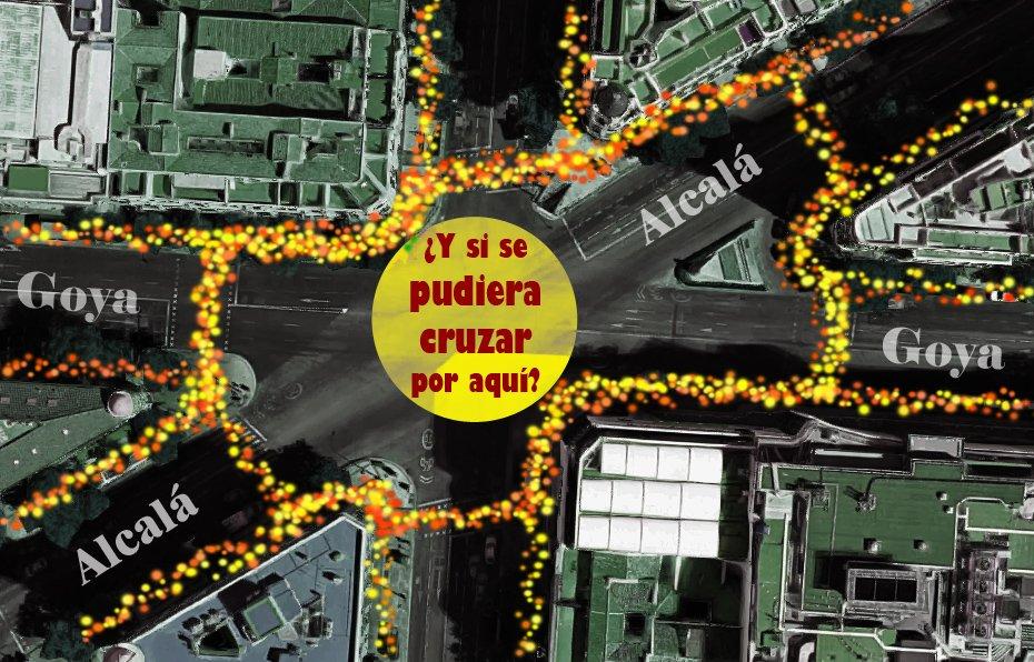 ¿El cruce de Shibuya en Goya con Alcalá? Si lo votas, se hará