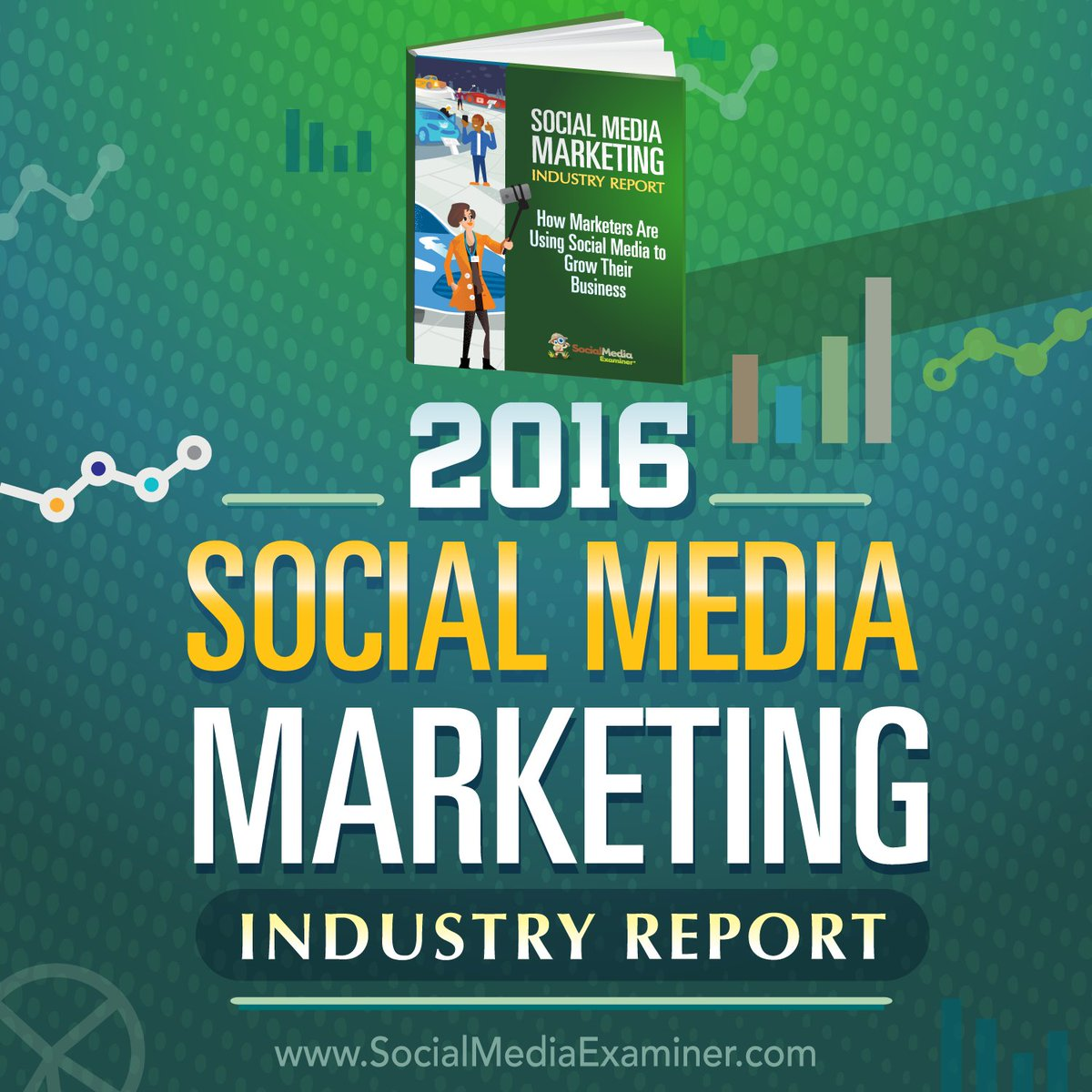 NEW: 2016 #SocialMedia #Marketing Industry Report https://t.co/a4wcz7J4ce by @Mike_Stelzner https://t.co/OAOtwS9FST