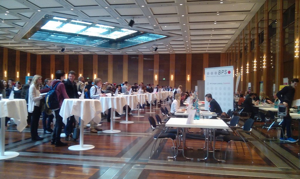 ihk Azubi Speed ​​Dating 2016 Düsseldorf