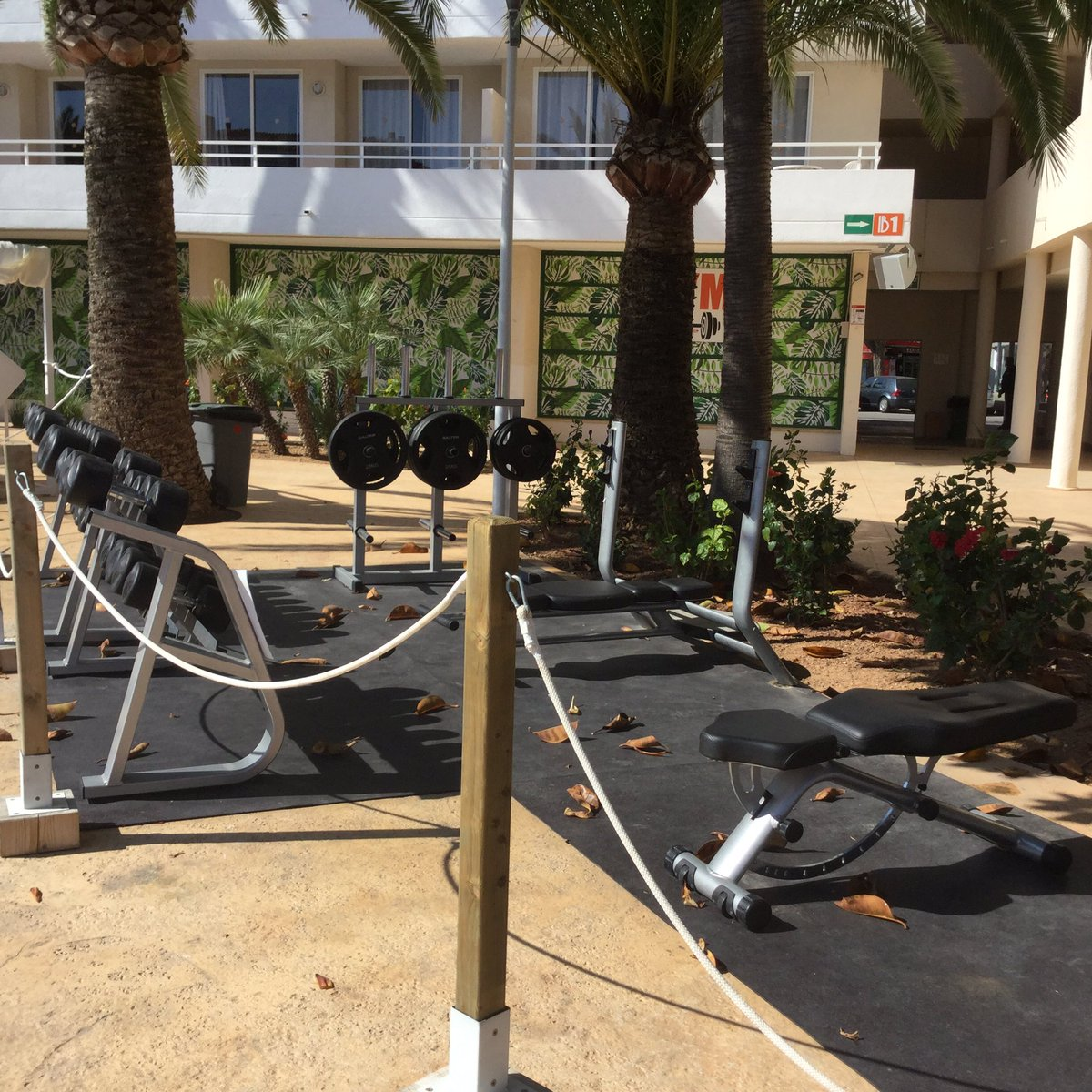 Bh Mallorca On Twitter Our Outside Gym For The Ones Who Wants
