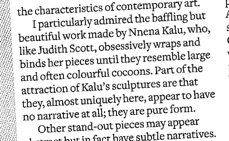 AS Artist NnenaKalu in review of #RadicalCraftTour in @craftsmagazine @PallantGallery @outsidein_uk @tweetcraftspace https://t.co/W9xrmcywYR