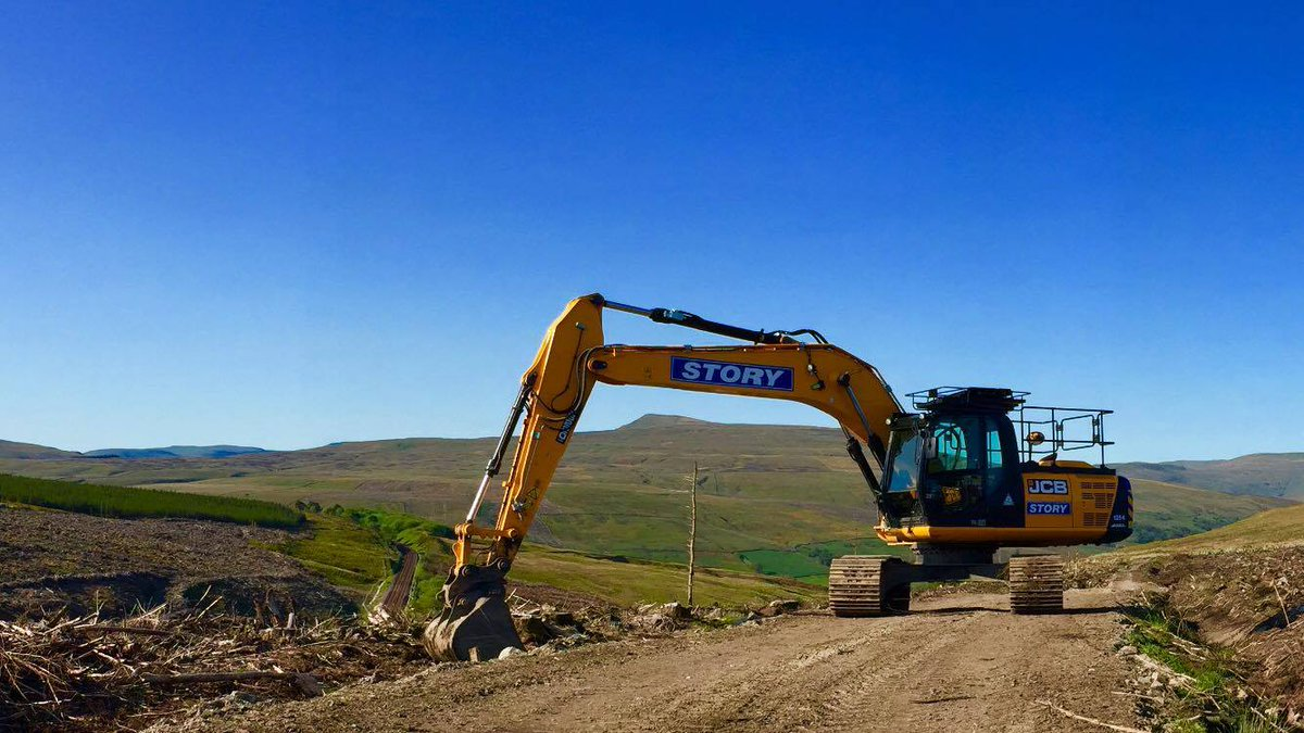 RT @StoryContractng: Great 360 views in our 20T Excavator, on site at Dodderham Moss  #TeamStory #StorySelfie #JCB https://t.co/IIki4uwmTa