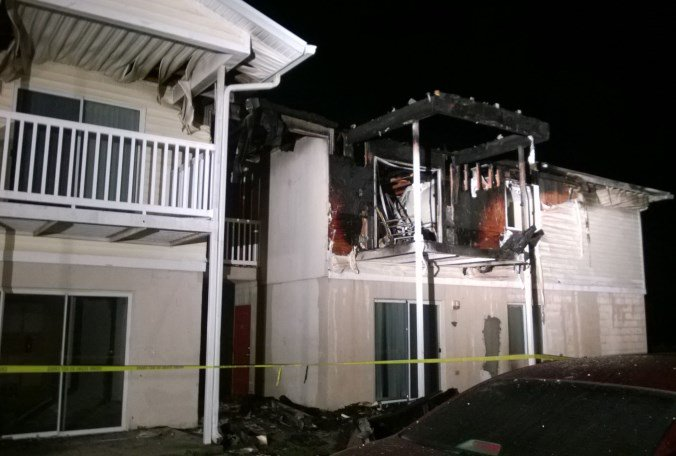Four people taken to hospital in Lake Wales apartment fire