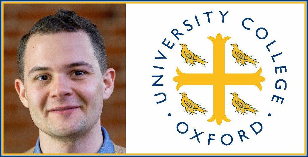 Univ College Oxford On Twitter Univ Junior Dean Carl Hildebrand   Am   May