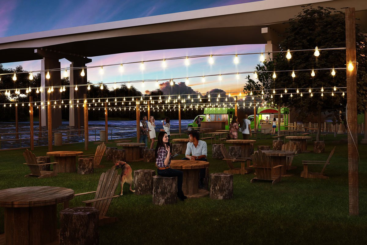 A traveling beer garden is coming to 14 Philly parks @PhilaParkandRec ParksOnTap