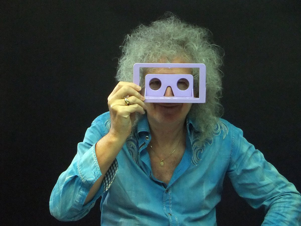 Press Release: Virtual Reality from Brian May. It's real.