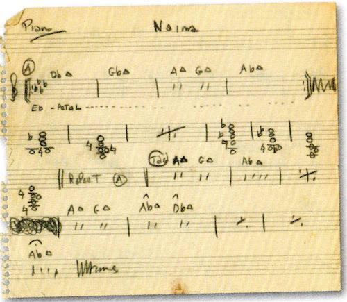 Franck Biyong On Twitter Piano Chords For The Song Naima