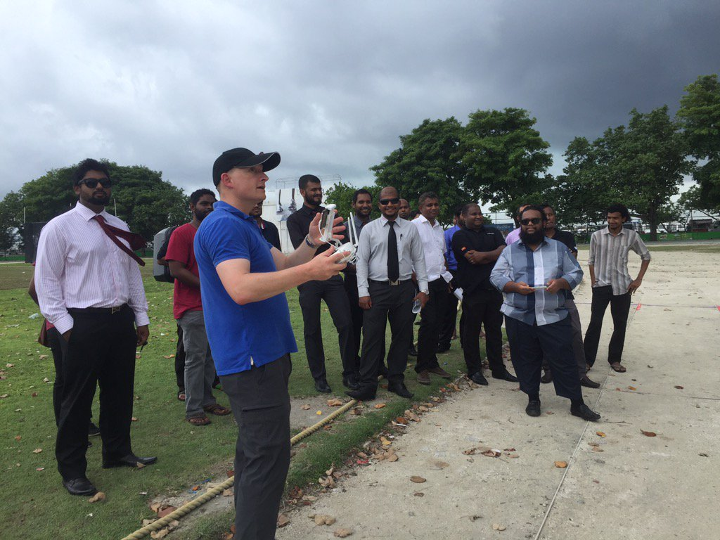 v believe  in inclusion from policy makers to users at initiation of a project @DJIGlobal @UNDPMaldives @WeRobotics https://t.co/4VgVzu9fSI