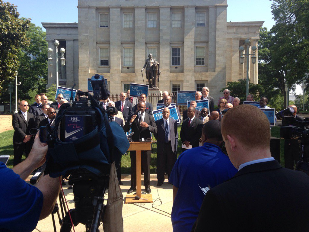 Thumbnail for Black Conservative Pastors Stand Behind #HB2