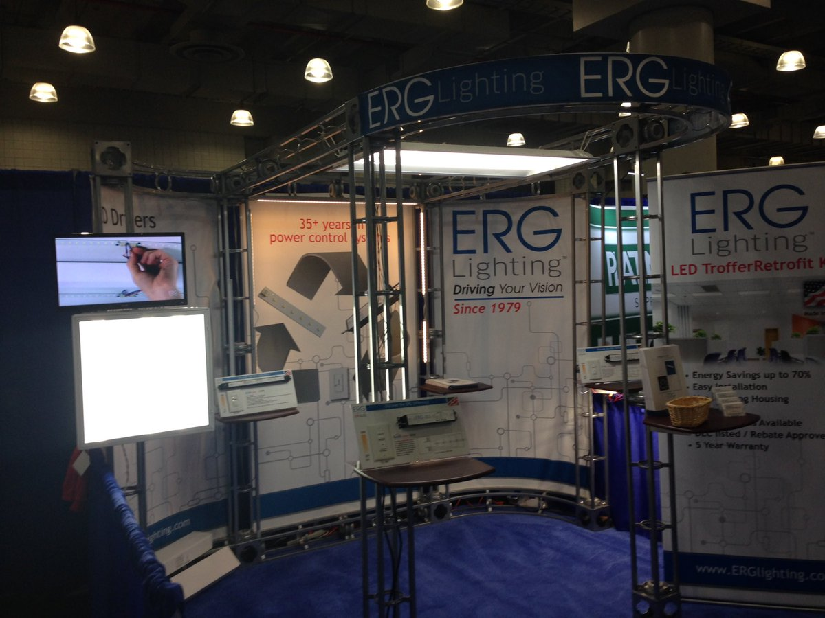 ERG Lighting on Twitter  #BuildingsNY opening day. Booth220 //t.co/7YDiXrzD2B  & ERG Lighting on Twitter: