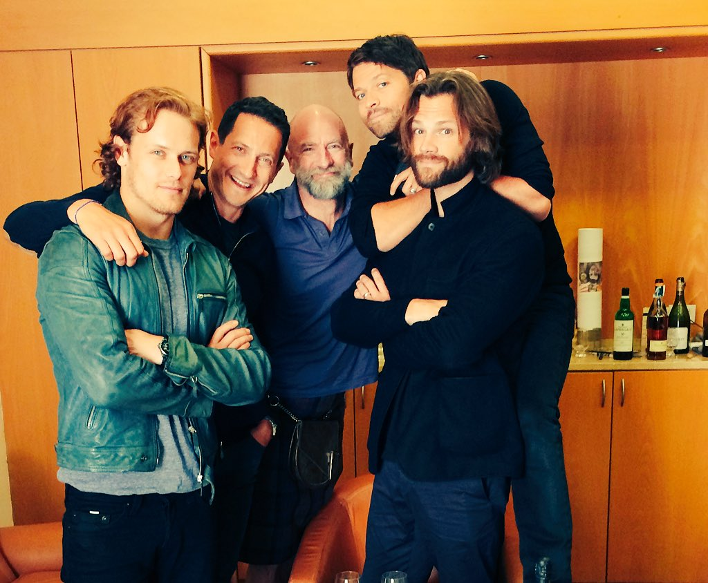 Sam heughan on twitter quot what a fine group of gentlemen no whisky