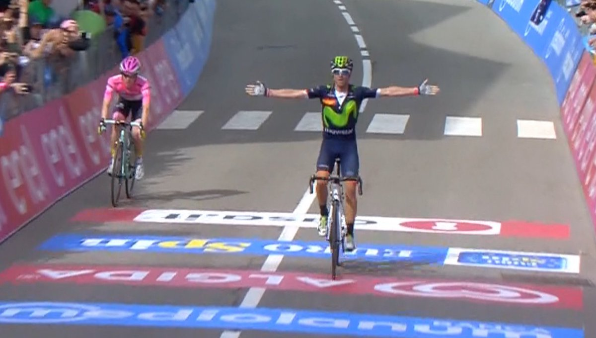 Diretta Giro d'Italia: All'arrivo di Andalo il ritorno di Valverde