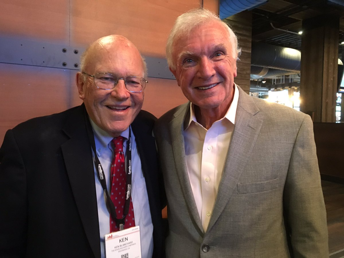 Two leadership development heroes in one picture. @kenblanchard and Bill Byham. @DDIworld #ATD2016 https://t.co/ZPRqTZpO98