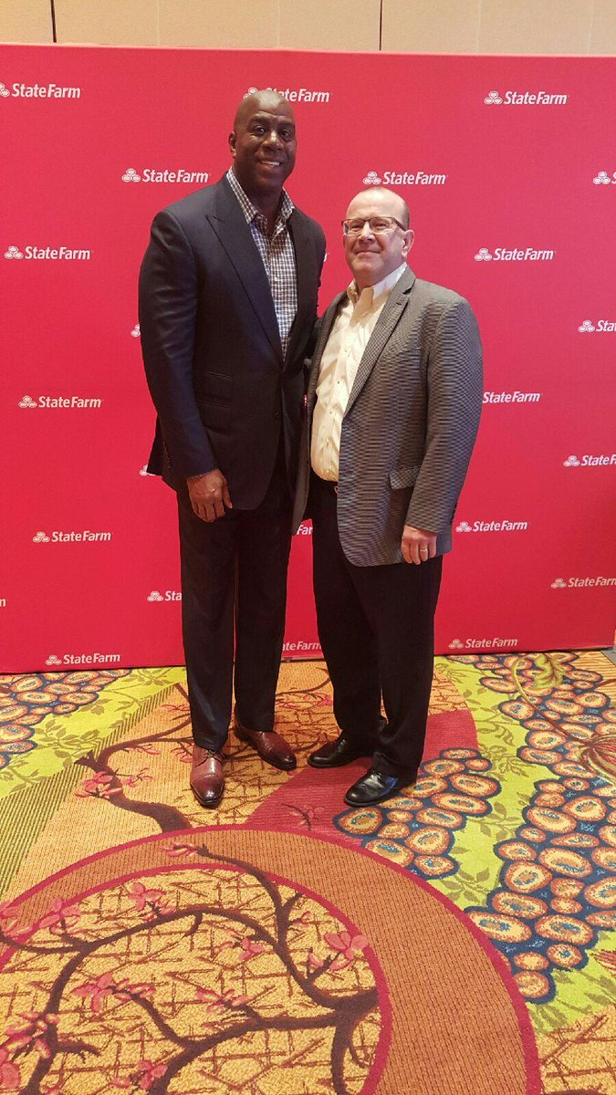Earvin Magic Johnson On Twitter Thank You To Statefarm Ceo Michael Tipsord For Allowing Me To Speak To Over 1k At Their Top Performers Conference