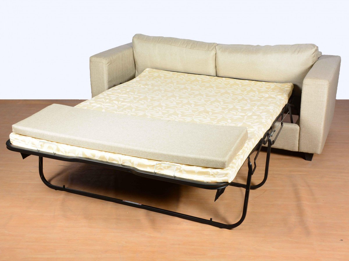 Tremendous Gozefo On Twitter Pull Out Sofa Cum Bed In Beige Click To Theyellowbook Wood Chair Design Ideas Theyellowbookinfo