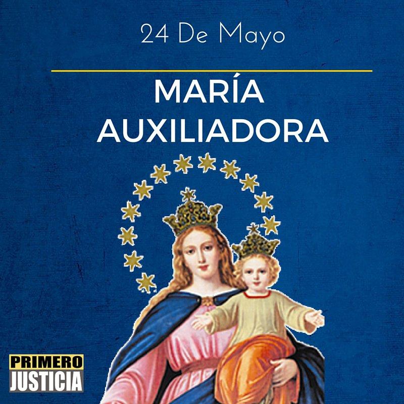 Primero Justicia On Twitter Hoy En El Dia De La Virgen Maria